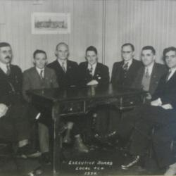 Local 464 Executive Board 1934